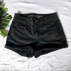 American Eagle Super Super Stretch Hi-Rise Shortie